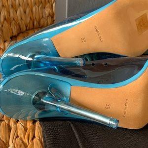 Yeezy Shoes - NIB Yeezy Season 7 Blue PVC Pump 39 or US 8.5 💙